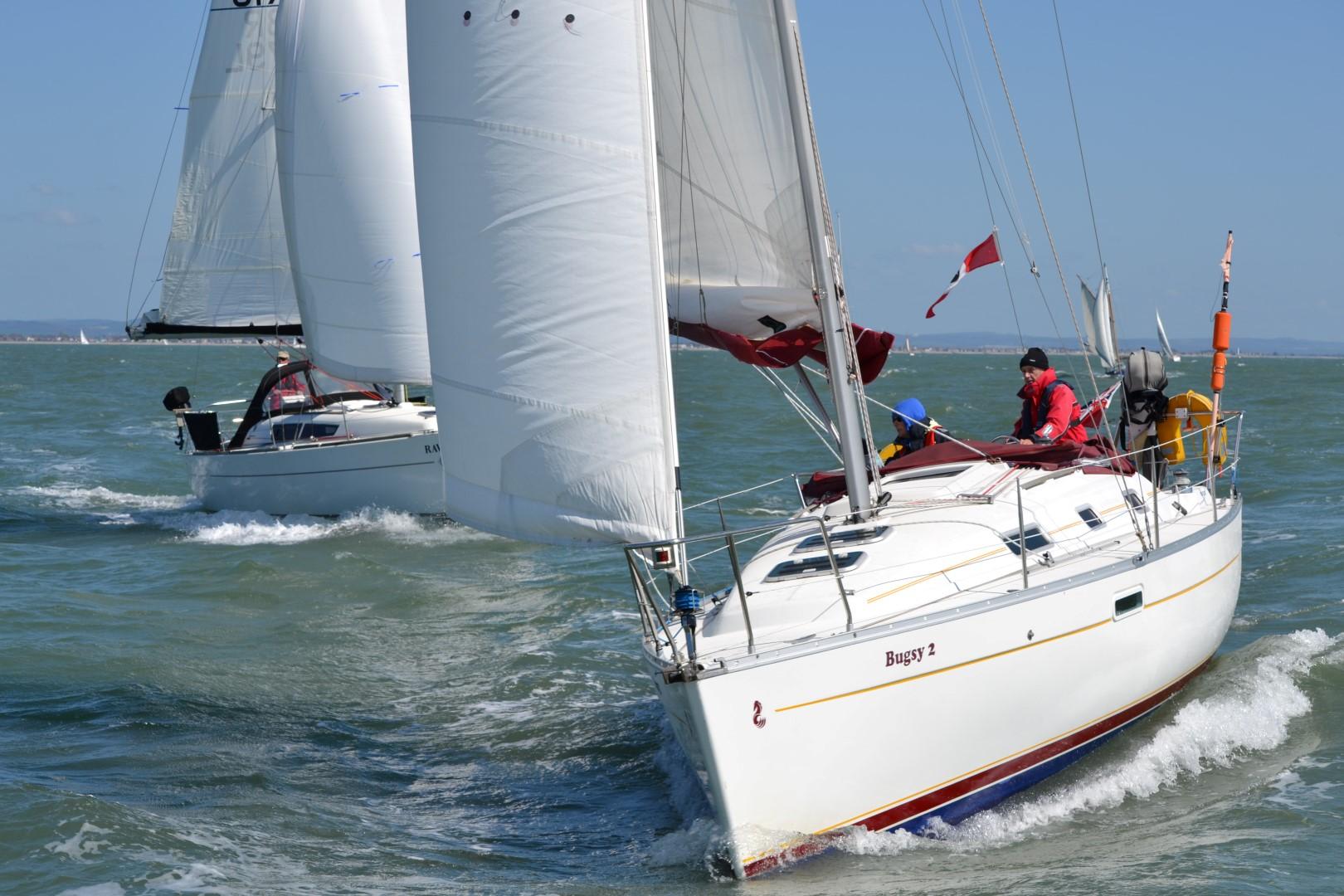 Yacht Cruise Cyc Round The Island Race Cruise